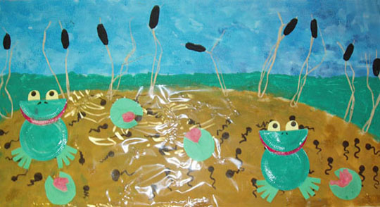 la mare aux grenouilles