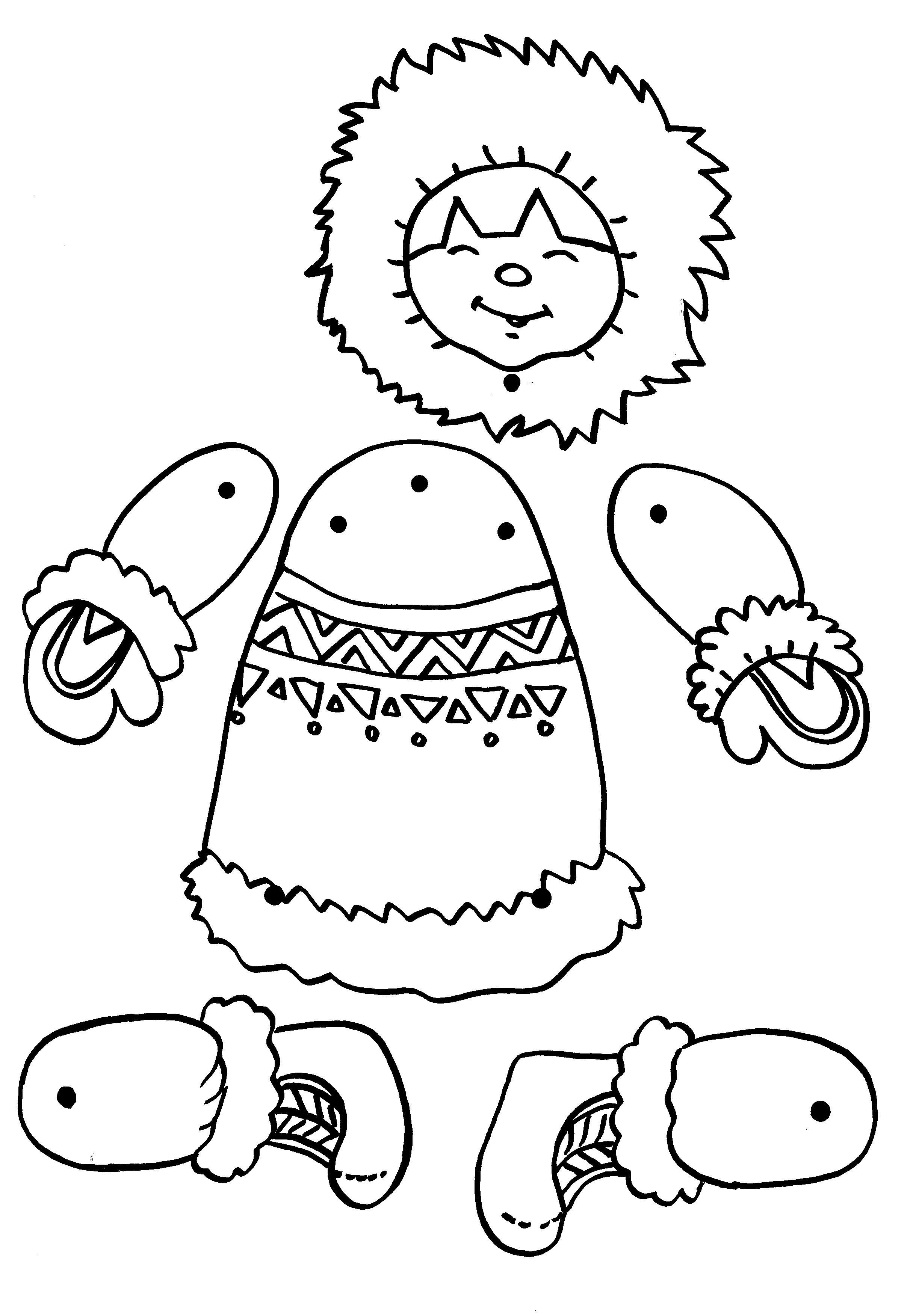 La maternelle de luciole - Esquimau dessin ...